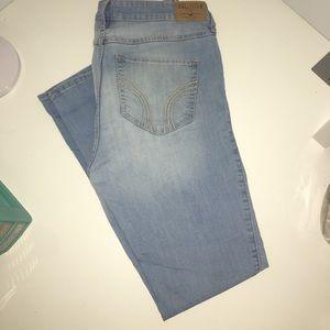 Hollister Super Skinny High Rise Jeans - Light